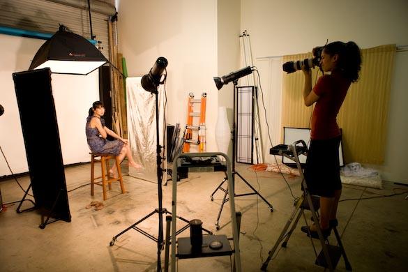 Yasmin shooting Caroline